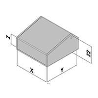 Pupitres 1 angle EC41-2xx